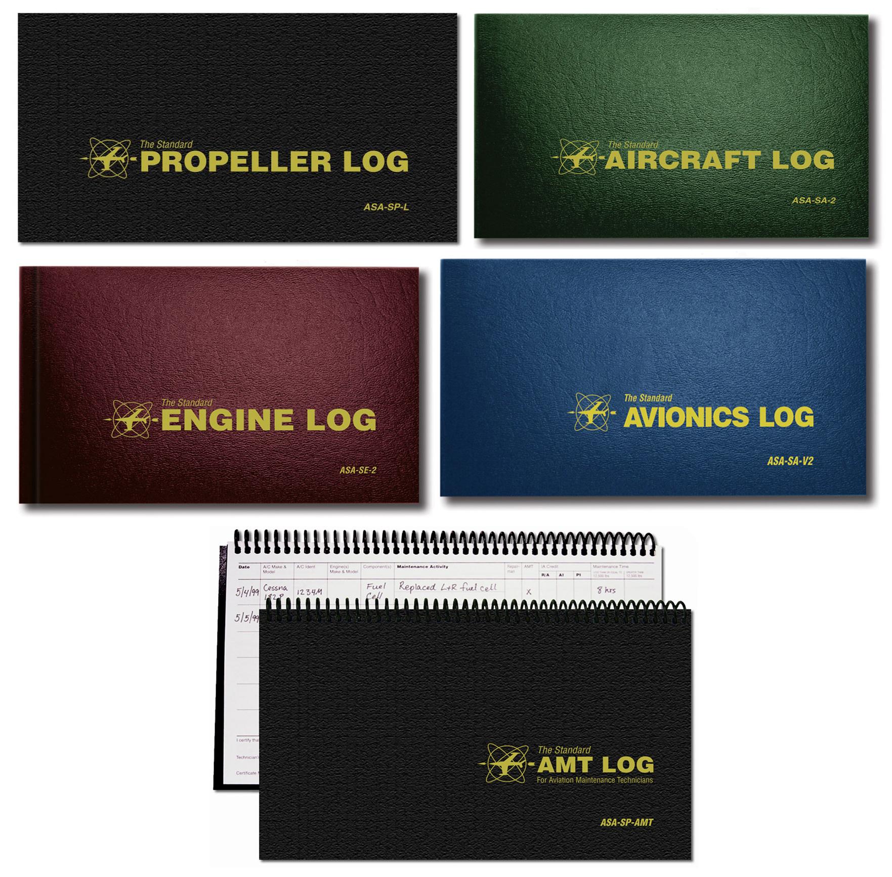 Softcover ASA Engine Log ASA-SE-1