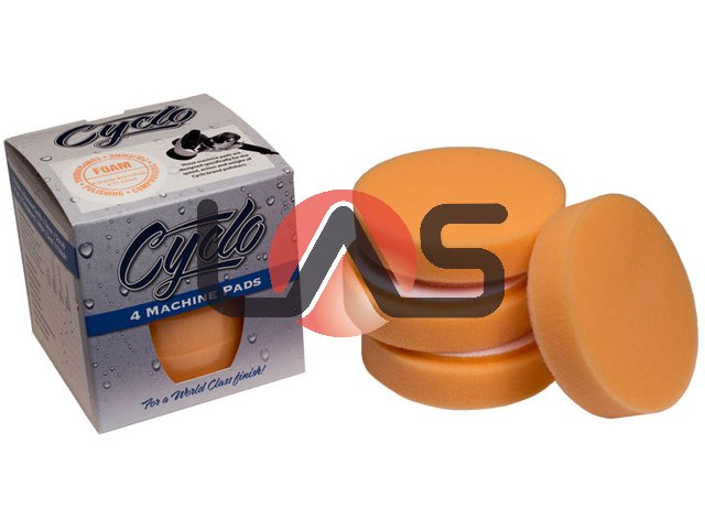 CYCLO FOAM VELCRO PADS (ORANGE)
